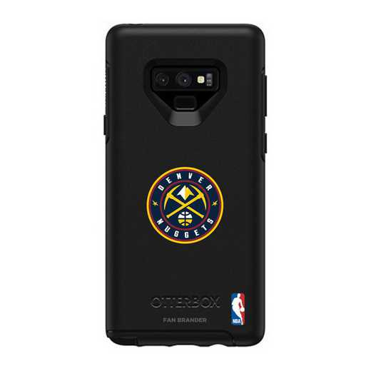 GAL-N9-BK-SYM-DNT-D101: BL Denver Nuggets OtterBox Galaxy Note9 Symmetry