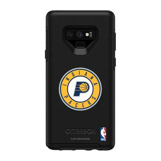 GAL-N9-BK-SYM-IPCR-D101: BL Indiana Pacers OtterBox Galaxy Note9 Symmetry