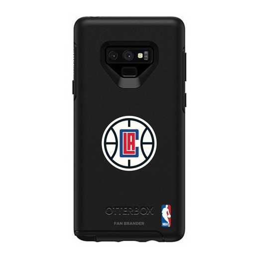 GAL-N9-BK-SYM-LAC-D101: BL LA Clippers OtterBox Galaxy Note9 Symmetry