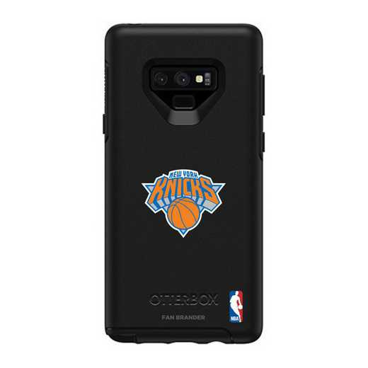 GAL-N9-BK-SYM-NYK-D101: BL New York Knicks OtterBox Galaxy Note9 Symmetry