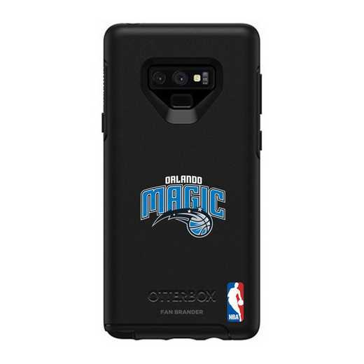 GAL-N9-BK-SYM-ORM-D101: BL Orlando Magic OtterBox Galaxy Note9 Symmetry