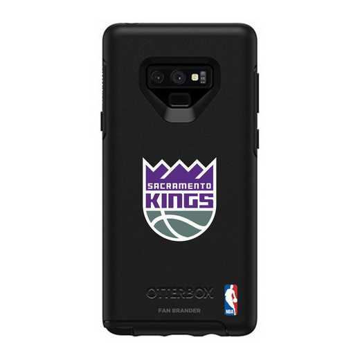 GAL-N9-BK-SYM-SAC-D101: BL Sacramento Kings OtterBox Galaxy Note9 Symmetry