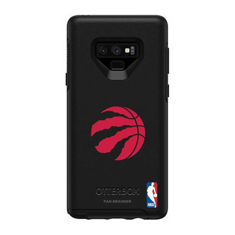 GAL-N9-BK-SYM-TOR-D101: BL Toronto Raptors OtterBox Galaxy Note9 Symmetry