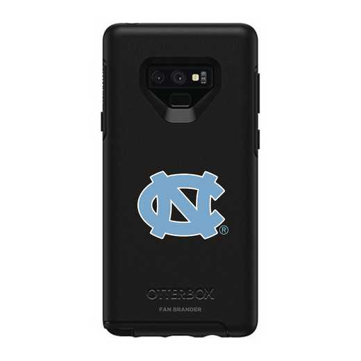 GAL-N9-BK-SYM-UNC-D101: FB OB NOTE 9 BLK North Carolina