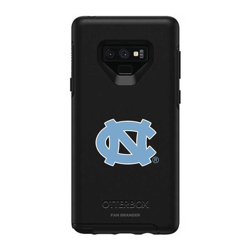 GAL-N9-BK-SYM-UNC-D101: FB OB NOTE 9 BLK North Carolina