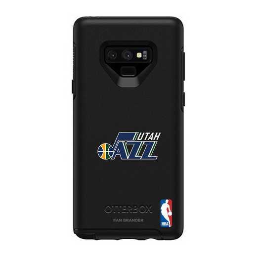 GAL-N9-BK-SYM-UTJ-D101: BL Utah Jazz OtterBox Galaxy Note9 Symmetry