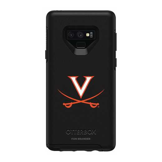 GAL-N9-BK-SYM-UVA-D101: FB OB NOTE 9 BLK Virginia