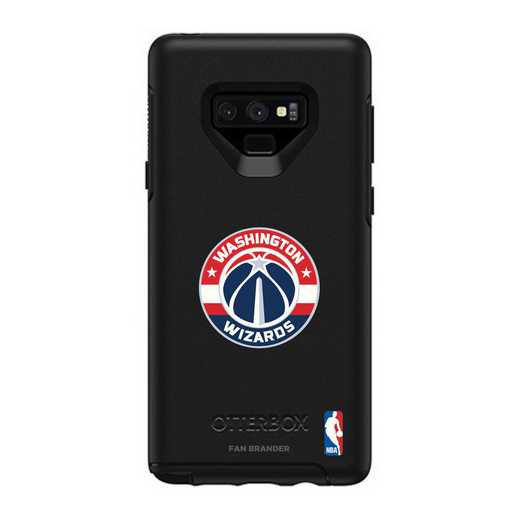 GAL-N9-BK-SYM-WAW-D101: BL Washington Wizards OtterBox Galaxy Note9 Symmetry