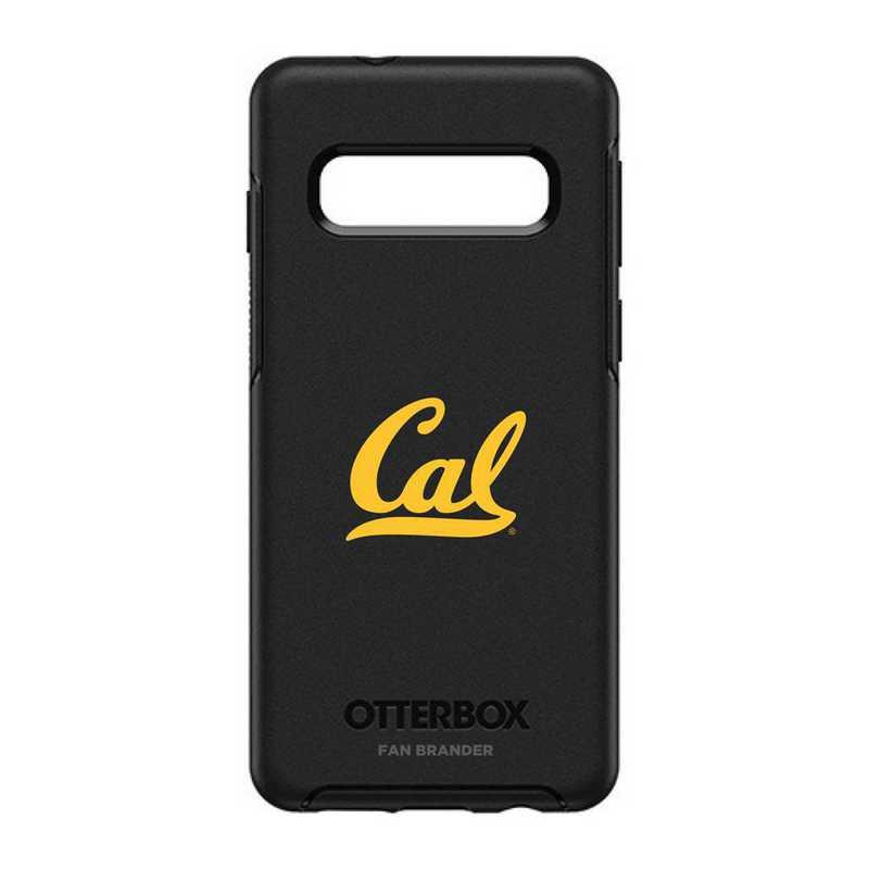 GAL-S10-BK-SYM-CAL-D101: BL California Bears OtterBox Galaxy S10 Symmetry
