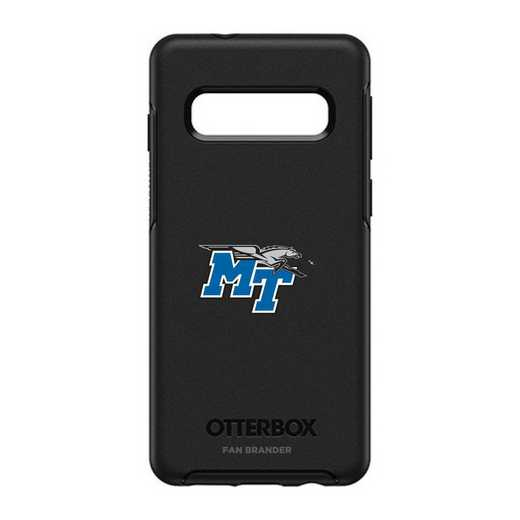 GAL-S10-BK-SYM-MTN-D101: BL Middle Tennessee St OtterBox Galaxy S10 Symmetry