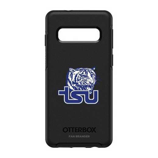 GAL-S10-BK-SYM-TNSU-D101: BL Tennessee State Tigers OtterBox Galaxy S10 Symmetry