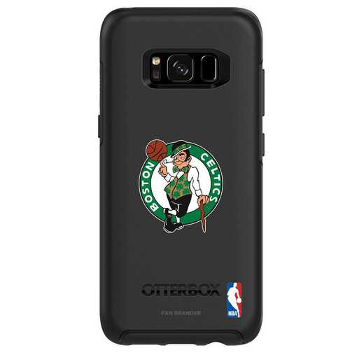GAL-S8-BK-SYM-BOS-D101: BL Boston Celtics OtterBox GALAXY S8 Symmetry