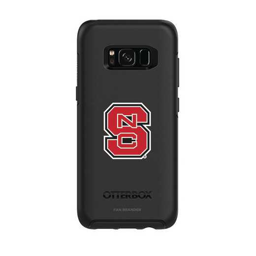 GAL-S8-BK-SYM-NCS-D101: FB OB S8 BLK North Carolina State