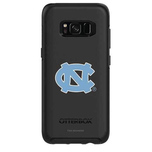GAL-S8-BK-SYM-UNC-D101: FB OB S8 BLK North Carolina