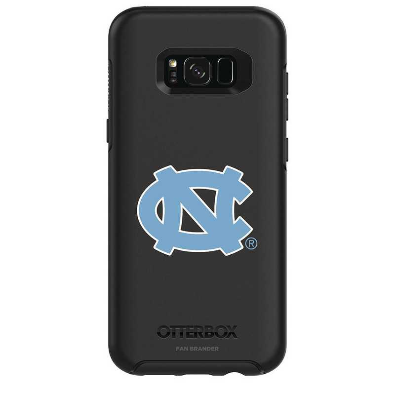 GAL-S8P-BK-SYM-UNC-D101: FB OB S8+ BLK North Carolina