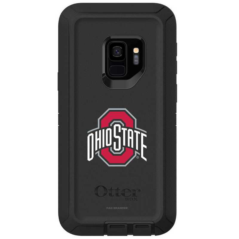 GAL-S9-BK-DEF-OHS-D101: FB OB S9 BLK Ohio State