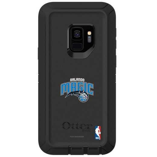 GAL-S9-BK-DEF-ORM-D101: BL Orlando Magic OtterBox Galaxy S9 Defender