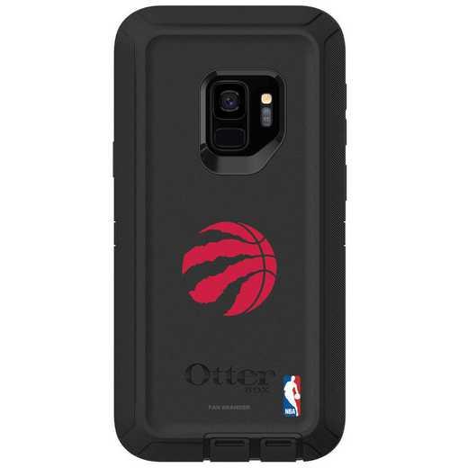 GAL-S9-BK-DEF-TOR-D101: BL Toronto Raptors OtterBox Galaxy S9 Defender