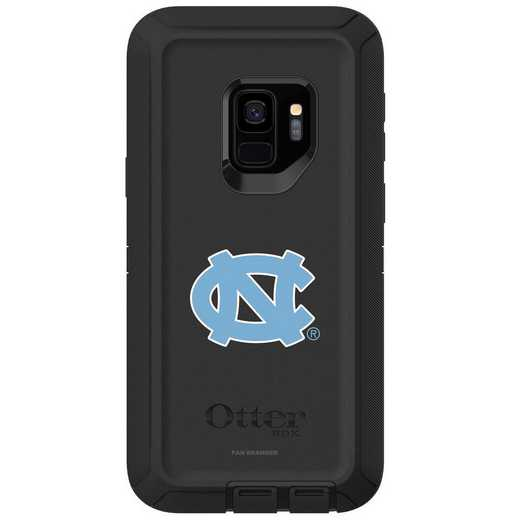 GAL-S9-BK-DEF-UNC-D101: FB OB S9 BLK North Carolina