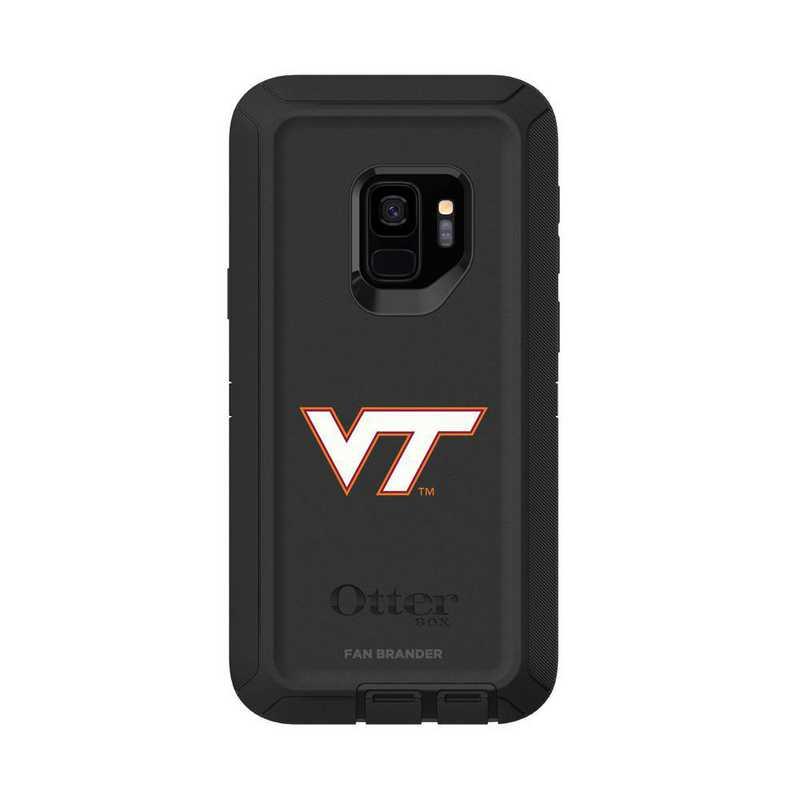 GAL-S9-BK-DEF-VAT-D101: FB OB S9 BLK Virginia Tech