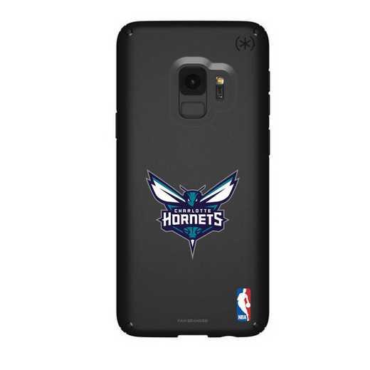 GAL-S9-BK-PRE-CHH-D101: BL Speck Presido Galaxy S9, Charlotte Hornets