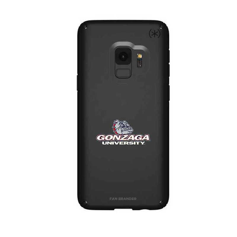 GAL-S9-BK-PRE-GON-D101: FB Gonzaga Bulldogs Speck Galaxy S9 Presidio