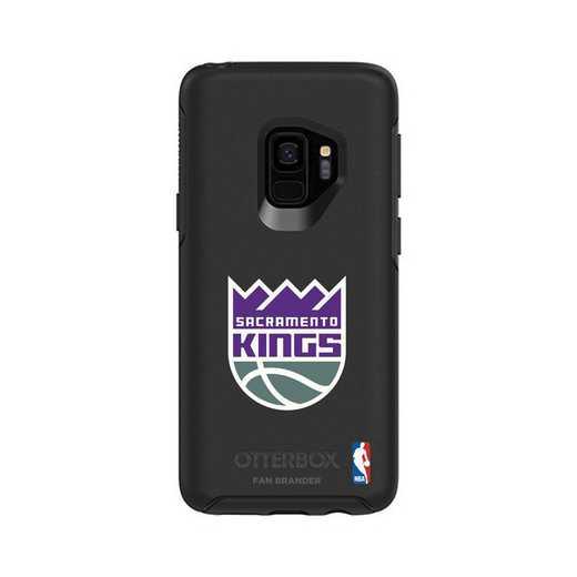 GAL-S9-BK-SYM-SAC-D101: BL Sacramento Kings OtterBox Galaxy S9 Symmetry
