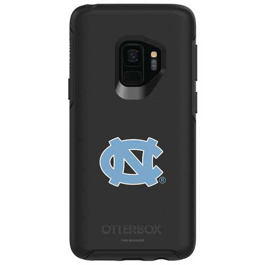 GAL-S9-BK-SYM-UNC-D101: FB OB S9 BLK North Carolina