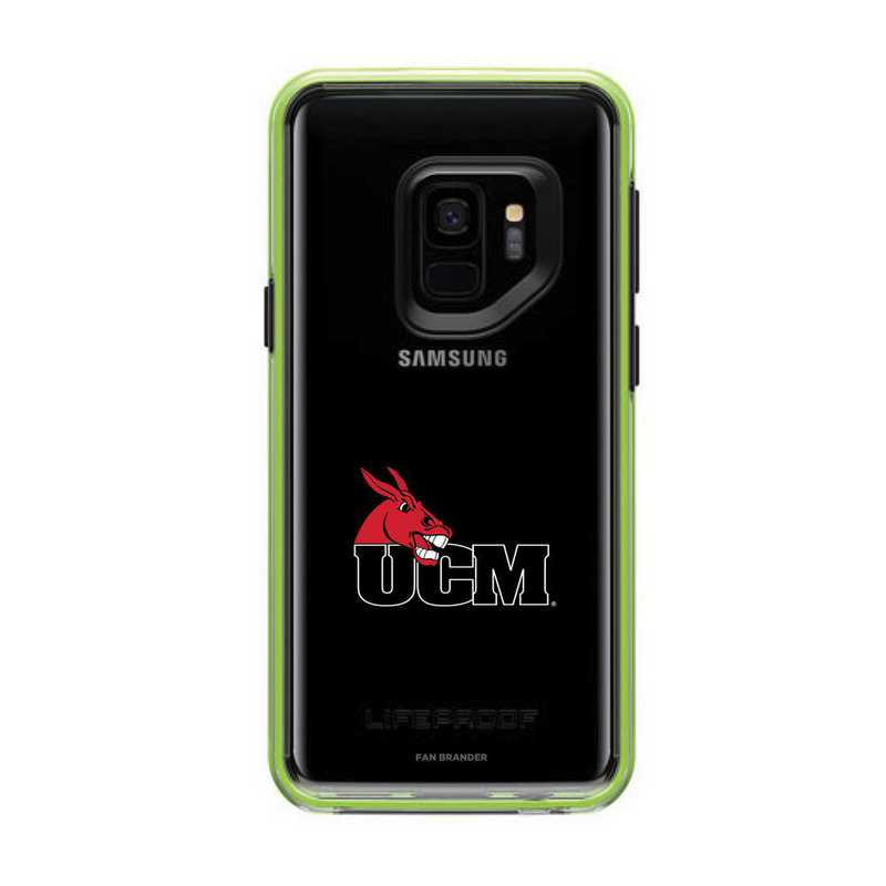 GAL-S9-NF-SLA-CMIZ-D101: FB Central Missouri Mules Lifeproof Galaxy S9 SLAM