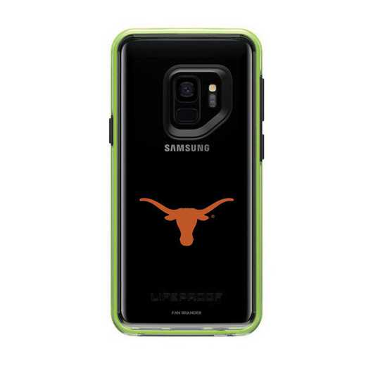 GAL-S9-NF-SLA-TEX-D101: FB Texas Longhorns  Lifeproof Galaxy S9 SLAM