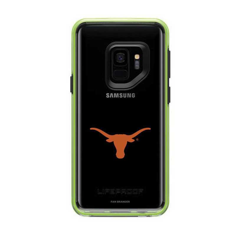 GAL-S9-NF-SLA-TEX-D101: FB Texas Longhorns  Lifeproof Galaxy S9 SLAM