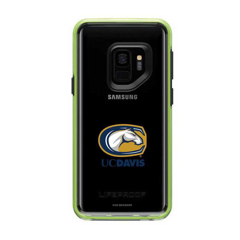 GAL-S9-NF-SLA-UCD-D101: FB UC Davis Aggies Lifeproof Galaxy S9 SLAM