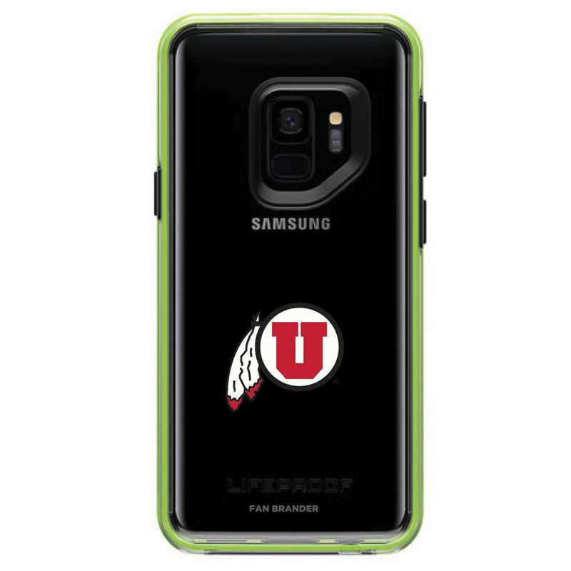 GAL-S9-NF-SLA-UT-D101: FB Utah Utes Lifeproof Galaxy S9 SLAM