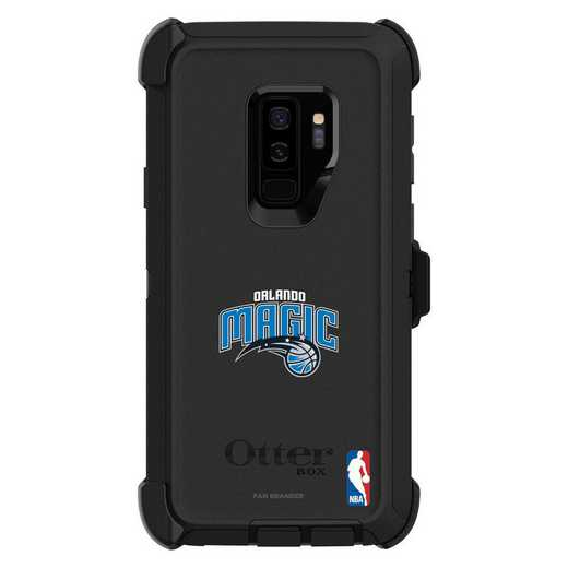 GAL-S9P-BK-DEF-ORM-D101: BL Orlando Magic OtterBox Galaxy S9 Defender
