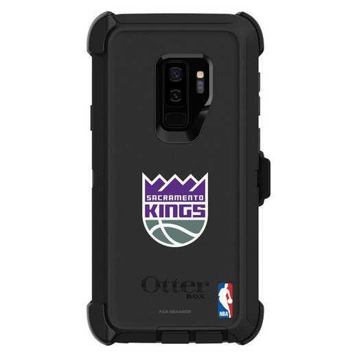GAL-S9P-BK-DEF-SAC-D101: BL Sacramento Kings OtterBox Galaxy S9 Defender