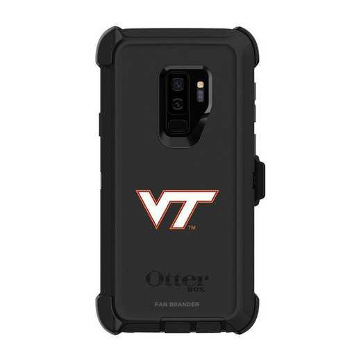 GAL-S9P-BK-DEF-VAT-D101: FB OB S9 BLK Virginia Tech