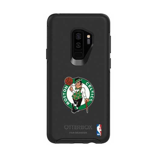 GAL-S9P-BK-SYM-BOS-D101: BL Boston Celtics OtterBox Galaxy S9+ Symmetry