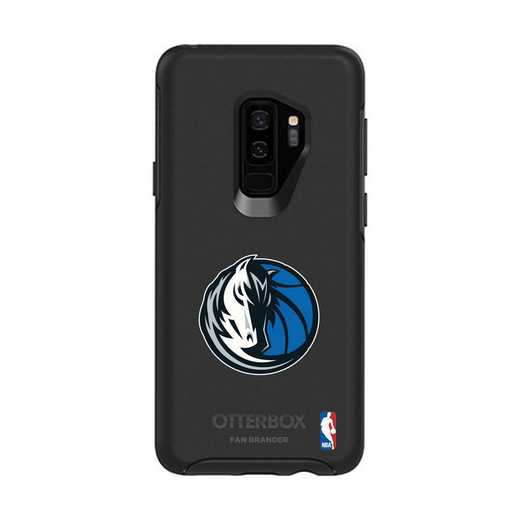 GAL-S9P-BK-SYM-DAM-D101: BL Dallas Mavericks OtterBox Galaxy S9+ Symmetry