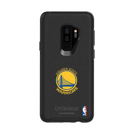 GAL-S9P-BK-SYM-GST-D101: BL Golden State Warriors OtterBox Galaxy S9+ Symmetry