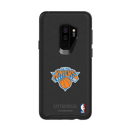 GAL-S9P-BK-SYM-NYK-D101: BL New York Knicks OtterBox Galaxy S9+ Symmetry
