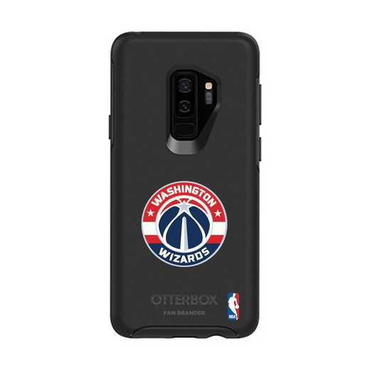 GAL-S9P-BK-SYM-WAW-D101: BL Washington Wizards OtterBox Galaxy S9+ Symmetry