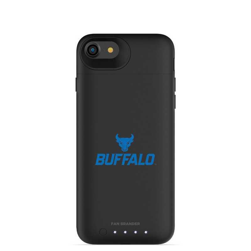 IPH-87-BK-JPA-BUFB-D101: FB Buffalo Bulls mophie iPhone 8 and iPhone 7