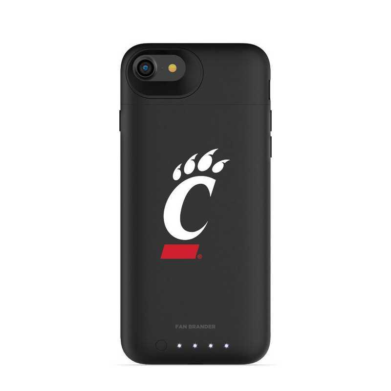 IPH-87-BK-JPA-CIN-D101: FB Cincinnati Bearcats mophie iPhone 8 and iPhone 7