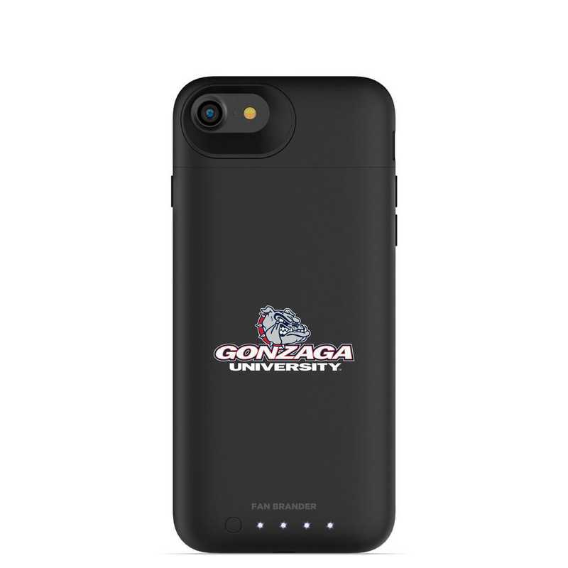 IPH-87-BK-JPA-GON-D101: FB Gonzaga Bulldogs mophie iPhone 8 and iPhone 7