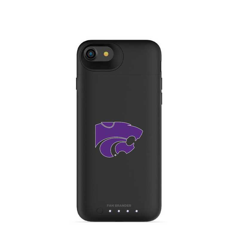 IPH-87-BK-JPA-KST-D101: FB Kansas State Wildcats mophie iPhone 8 and iPhone 7