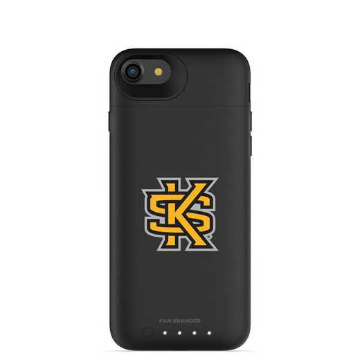IPH-87-BK-JPA-KSUA-D101: FB Kennesaw State Owls mophie iPhone 8 and iPhone 7