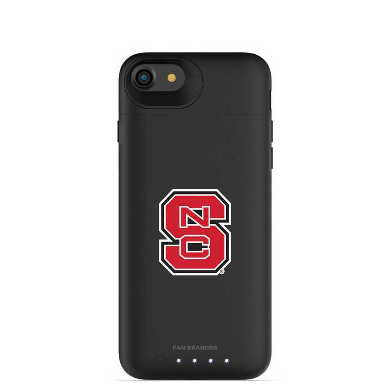 IPH-87-BK-JPA-NCS-D101: FB NC State Wolfpack mophie iPhone 8 and iPhone 7