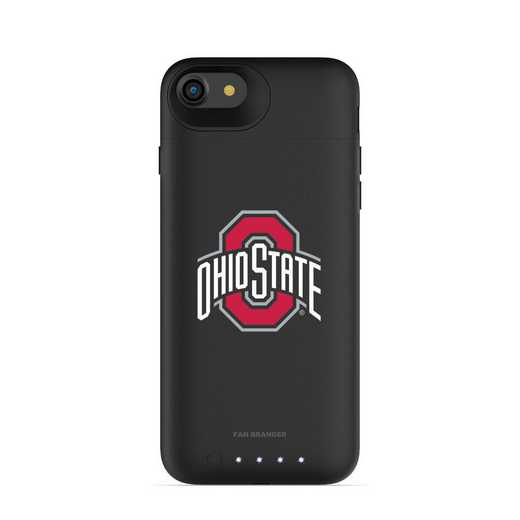 IPH-87-BK-JPA-OHS-D101: FB Ohio State Buckeyes mophie iPhone 8 and iPhone 7