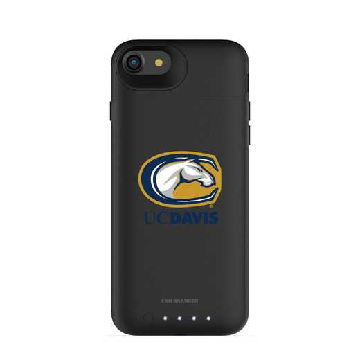IPH-87-BK-JPA-UCD-D101: FB UC Davis Aggies mophie iPhone 8 and iPhone 7