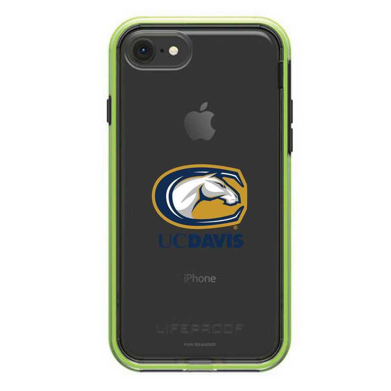 IPH-87-NF-SLA-UCD-D101: FB UC Davis Aggies LifeProof iPhone 8 and iPhone 7 SLAM